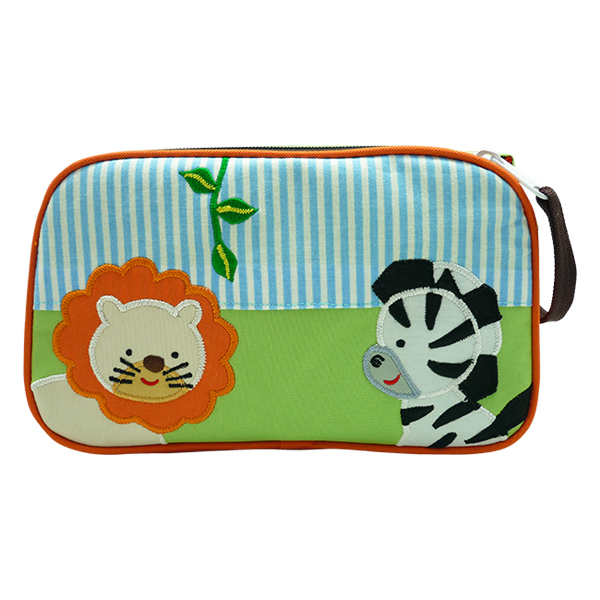 Toiletries Bag Nathan Zebra & Lion