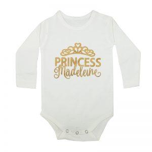 Jual Kaos Bayi Custom Nama Princess