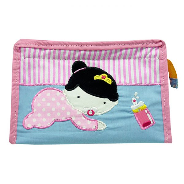 Tas Toiletries Segitiga Baby Amelia