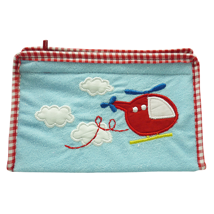Toiletries Bag Triangle Helicopter