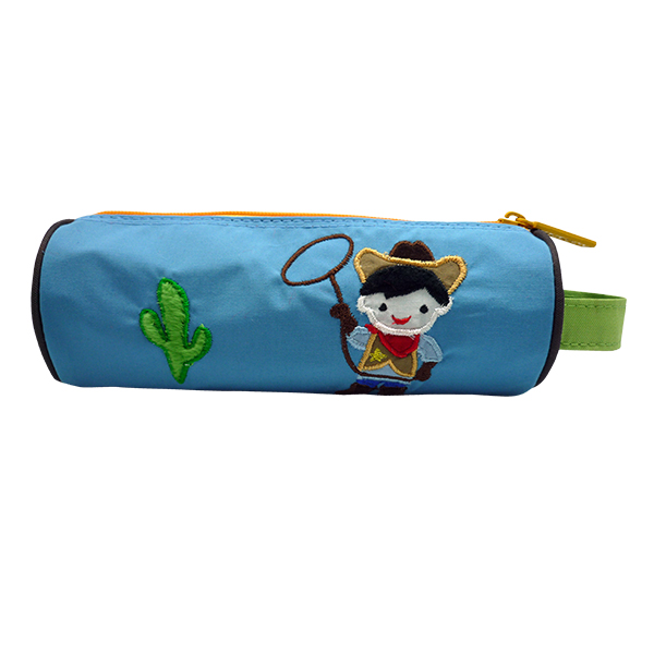 Pencil Pouch Berry Cowboy