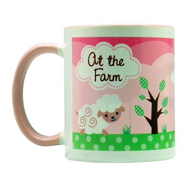 Coffee Mug Barnyard Girl
