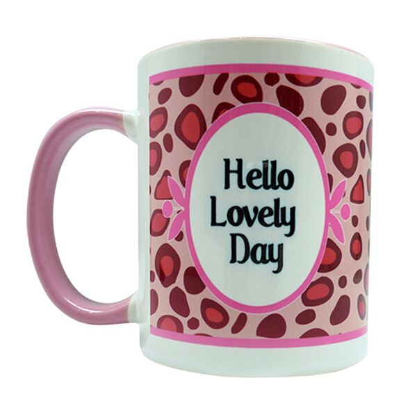 Coffee Mug Giraffe Pattern