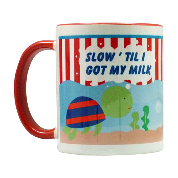 Coffee Mug Turtle Red
