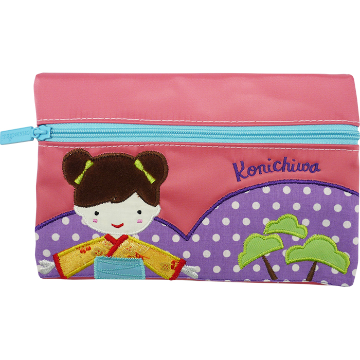 Pencil Pouch George Japanese Girl