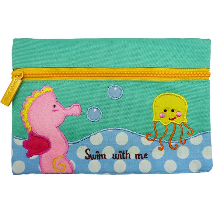 Pencil Pouch George Sea Horse