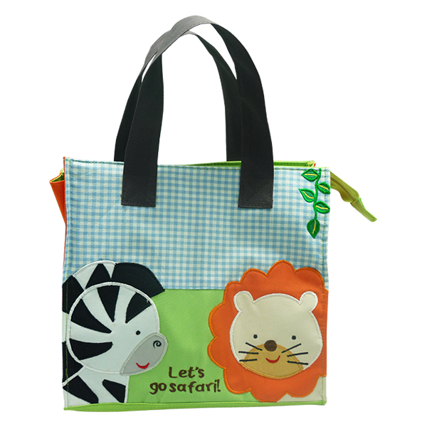 Kennedy Tote Bag – Zebra Lion