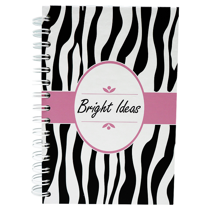 Notebook Pink Zebra
