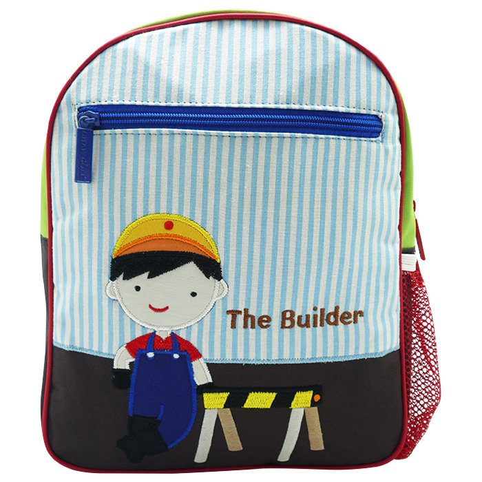 Toddler Small Backpack Construction