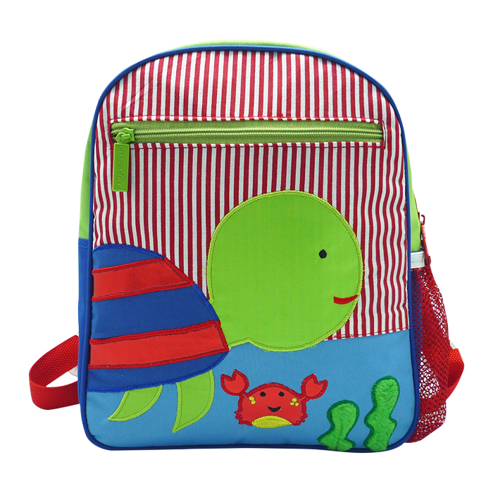 Toddler Small Backpack Turtle Blue