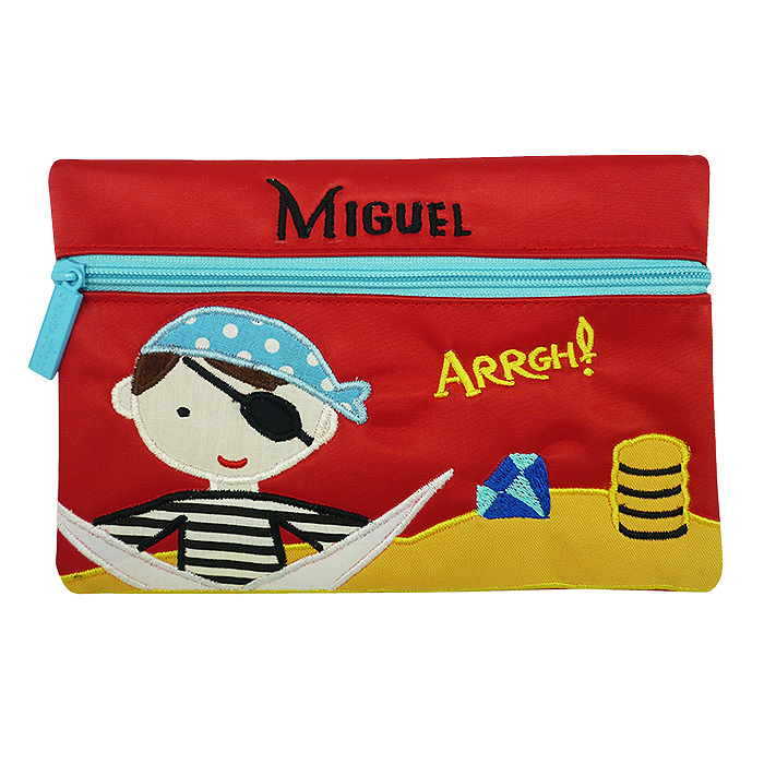 Pencil Pouch George Captain Kidd