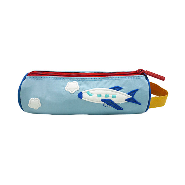 Pencil Pouch Berry Airplane