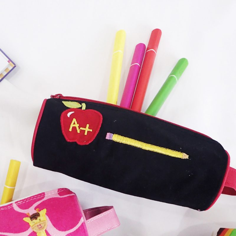 Pencil Pouch Berry A+ Teacher