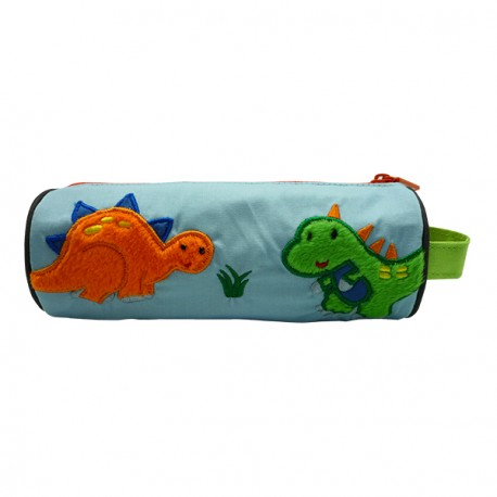 Pencil Pouch Berry Stego & T-Rex