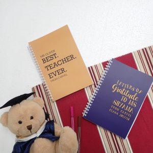Souvenir Notebook Custom Gratitude