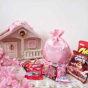 Tas Serut Pink Goody Bag
