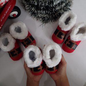 Jual Sepatu Bayi Custom Edisi Natal