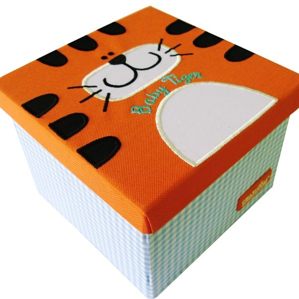 Foldable Storage Box – Tiger