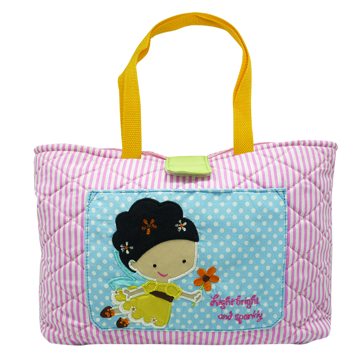Quilted Tote Bag – Renee' Fairy