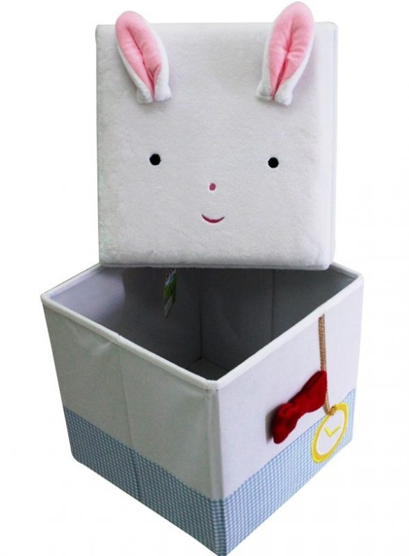 Stool Box – Bunny Alice In Wonderland