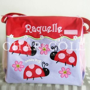 Calista Baby Diaper Bag Lady Bug