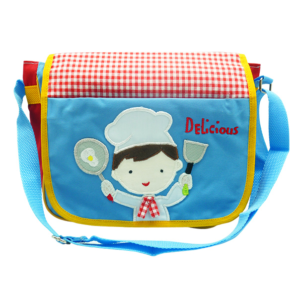 Messenger Sling Bag – Little Master Chef Boy