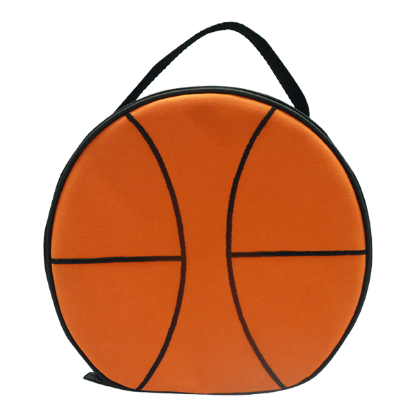 Round Lunch Bag – Basketball Boy