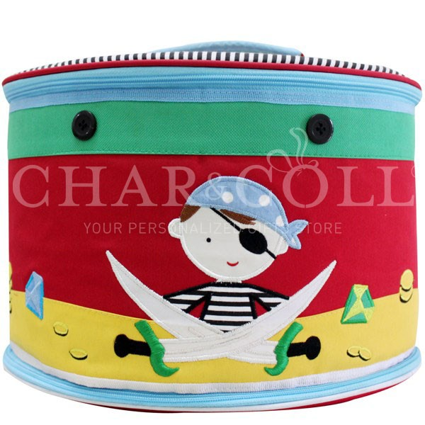 Round Storage Box – Captain Kidd