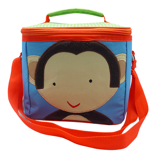 Square Lunch Bag – Monkey