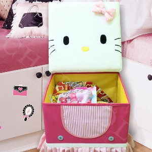 Stool Box – Pink Hello Kitty