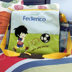 Baby Diapers Bag Calista Soccer