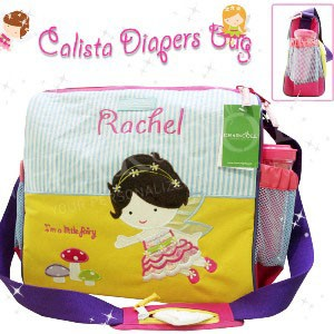 Calista Baby Diaper Bag Brunette Fairy