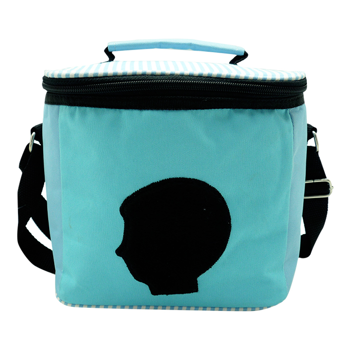 Square Lunch Bag – Silhouette Blue