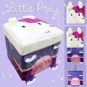 Stool Box – Little Pony