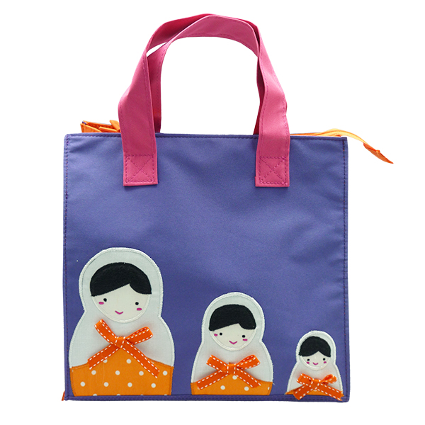 Kennedy Tote Bag – Matryoshka Purple