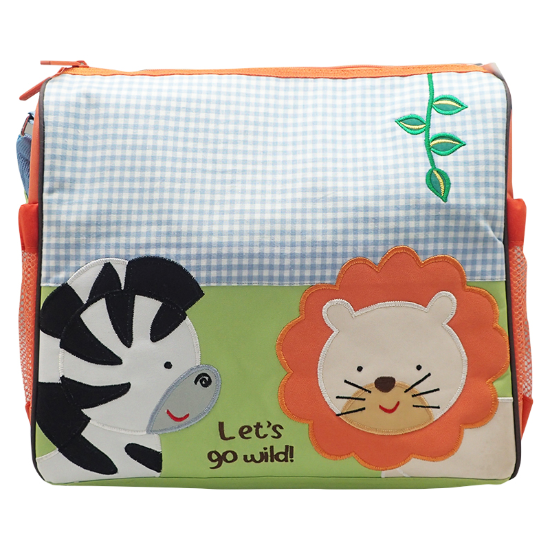 Baby Diapers Bag Calista Zebra & Lion