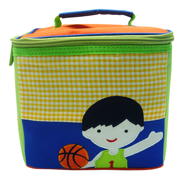 Square Lunch Bag – Basketball Boy