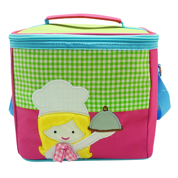 Square Lunch Bag – Little Master Chef Girl