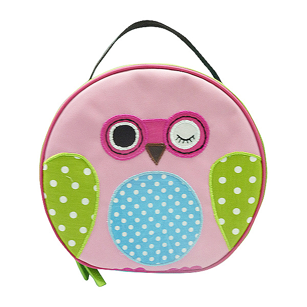 Round Lunch Bag – Owl