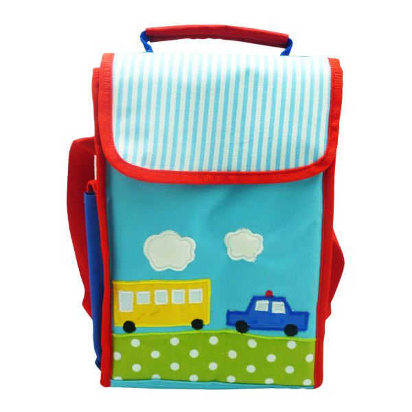 Collin Lunch Bag – Transportation Blue