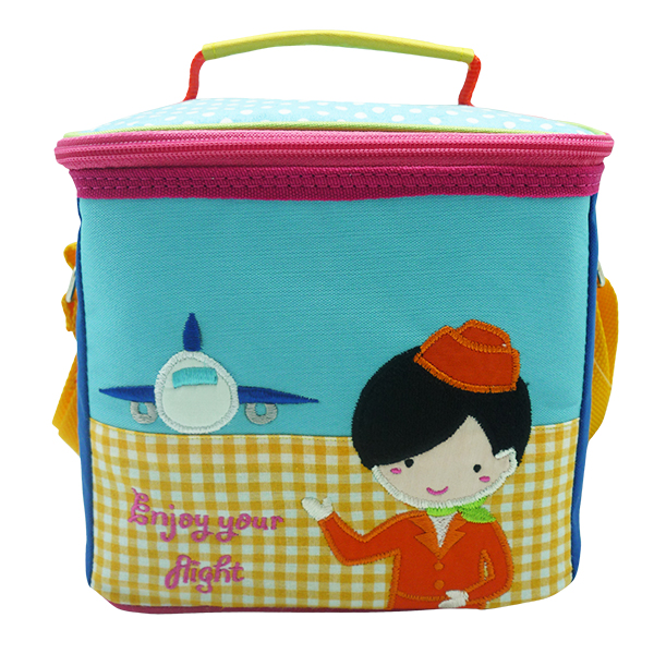 Square Lunch Bag – Airplane Girl