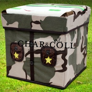 Stool Box – Army