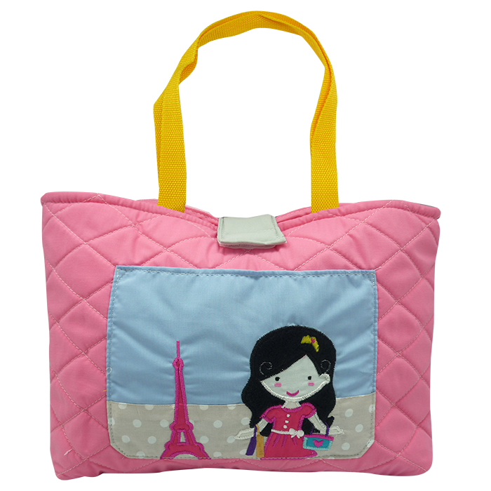 Quilted Tote Bag – Bonjour Amelia