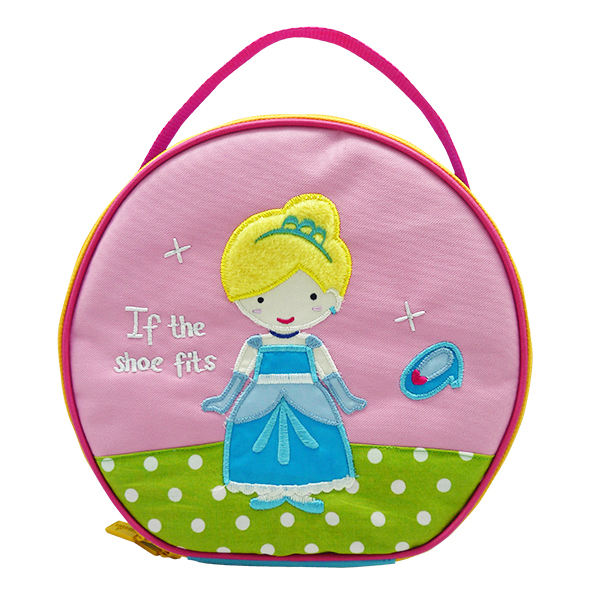 Round Lunch Bag – Cinderella