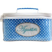 Cosmetic Bag Dorothy Light Blue Polkadots