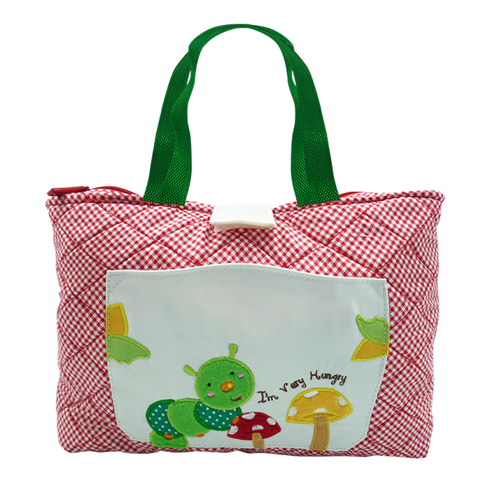 Quilted Tote Bag – Caterpillar