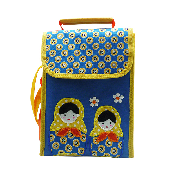 Collin Lunch Bag – Matryoshka Blue