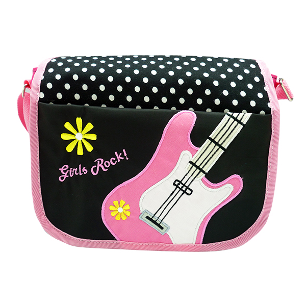 Messenger Sling Bag – Rock & Roll Pink