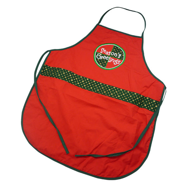 Christmas Apron Season Greetings