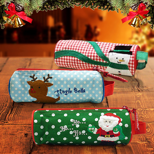 Pencil Pouch Berry Christmas Characters